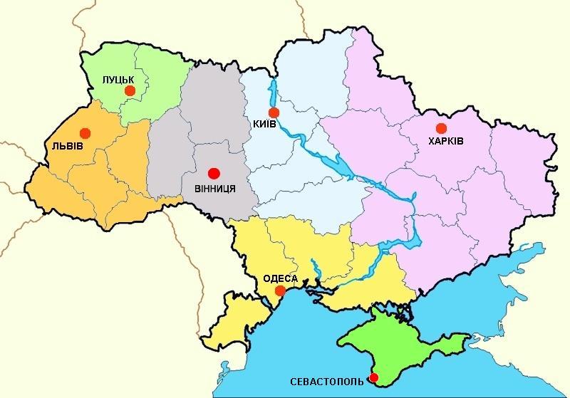 Польські Консульські округи в Україні
