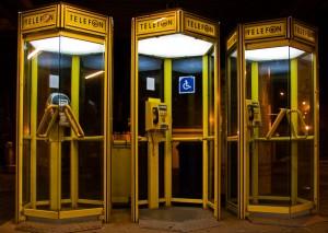 Телефонні будки в Польщі