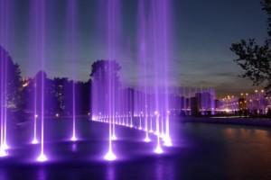 Мультимедійний фонтан у Варшаві