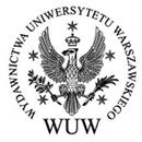 Герб Варшавського університету