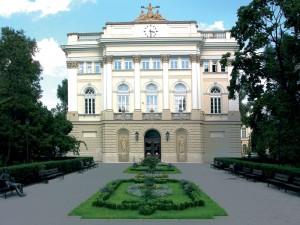 Панорама території Варшавського університету