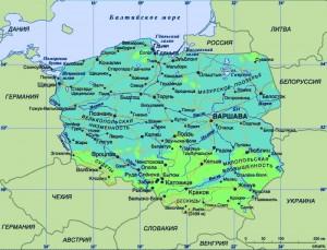 Карта Польші
