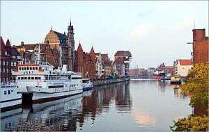 Річка Вісла у Варшаві