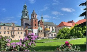 Вавельський замок та кафедральний собор у Кракові