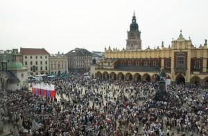 Торгова площа та Старе місто Кракова
