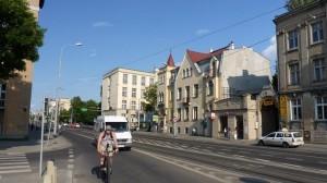 Польща, місто Лодзь - вулиця