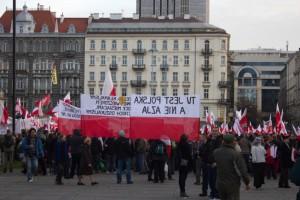 Демонстрація на День Незалежності Польщі