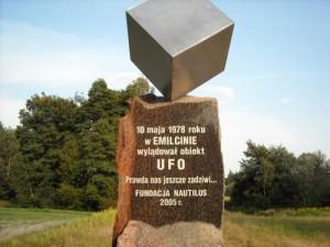 Пам'ятник інопланетянам, м. Емільцин