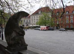 Полярний ведмідь, м. Варшава