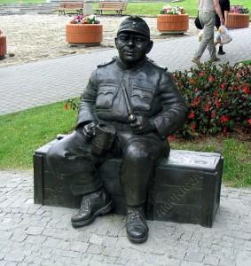 Пам'ятник бравому солдату Швейку