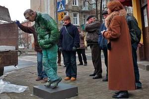 Пам'ятник бомжу-алкоголіку пану Гумі, м. Варшава