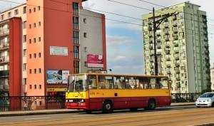 Автобуси «Ікарус» у Варшаві