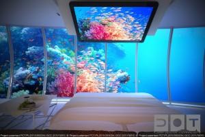 Польський готель на дні моря