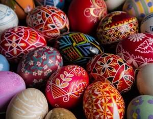 Яйця як фарбовані